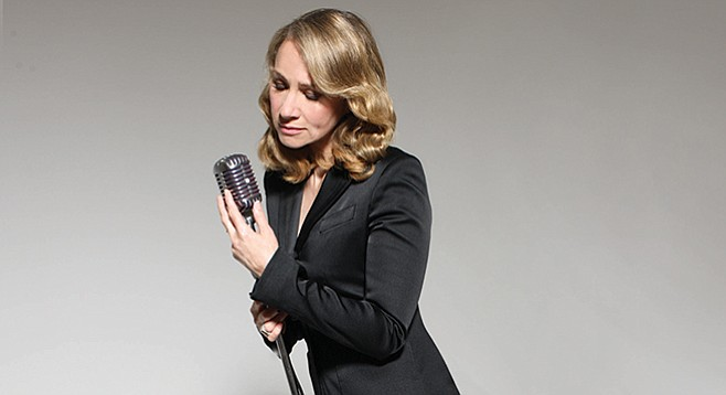 "Joan Osborne, best known for the insidiously catchy ""One of Us"""