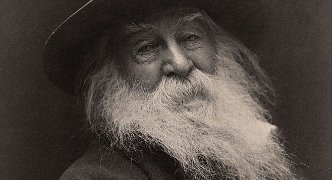 Walt Whitman, one of the most popular and influential of American poets