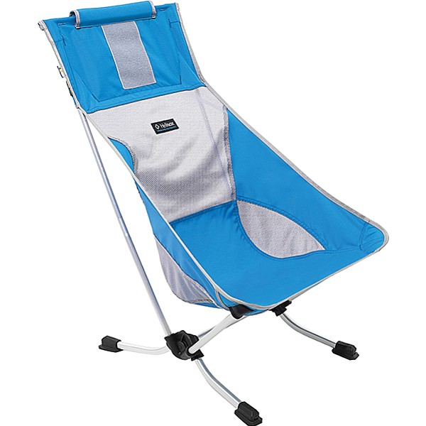 Invest in the Helinox Beach Chair. Your neck will thank you.