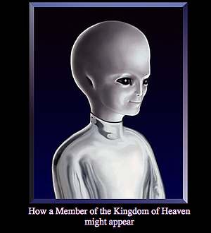 According to website, this is how a member of the kingdom of heaven might appear.