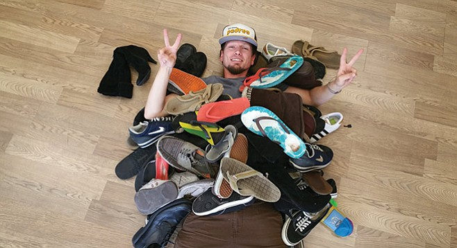 Randall Engstrom of Randall's Sandals vouches for the Olukai brand