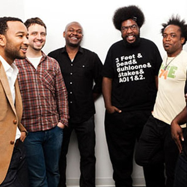 The Roots, fresh off a European tour