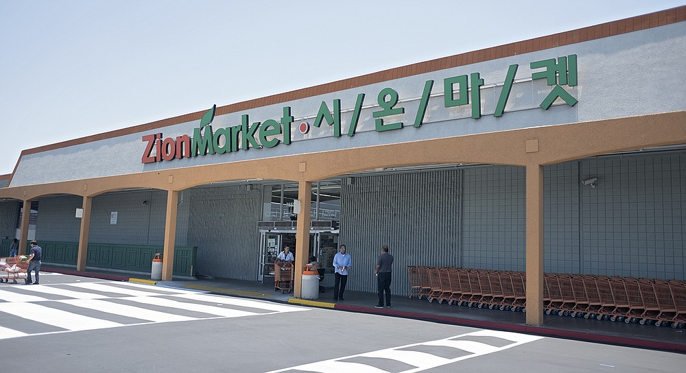 A Korean supermarket in Kearny Mesa