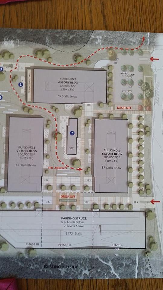 Plans for the Torrey Highlands Preserve.