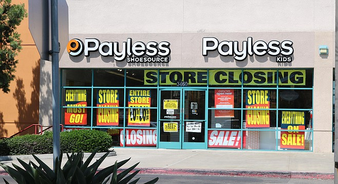 "Payless, Murphy Canyon. ""Their low prices and BOGO kept me coming back."""