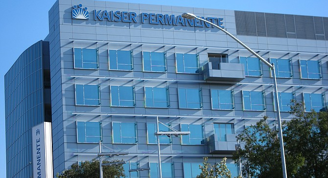 The Kaiser hospital that opened up in April at Clairemont Mesa Blvd and Ruffin Road.