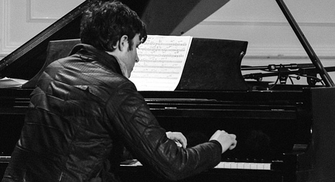 Chase Morrin has been cleaning up in piano competitions since childhood.