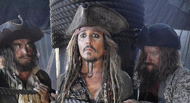 Some studio people complained that critics had done damage to Johnny Depp's fifth appearance as Captain Jack Sparrow in Dead Men Tell No Tales.