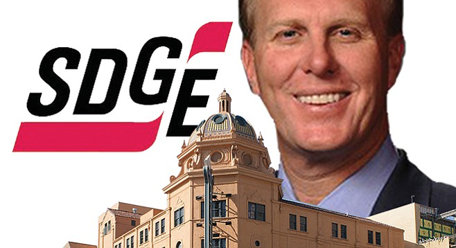 SDG&E helped sponsor mayor Kevin Faulconer's Balboa Theatre appearance in January. The corporation has also sought an audience with Faulconer, lobbying him (and city-council members) in an attempt to quash plans to eliminate SDG&E's power-distribution monopoly.