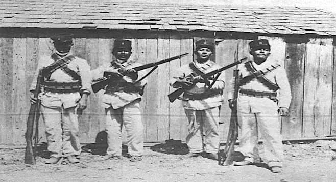 Tijuana guards