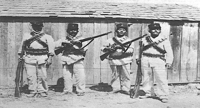 Tijuana guards