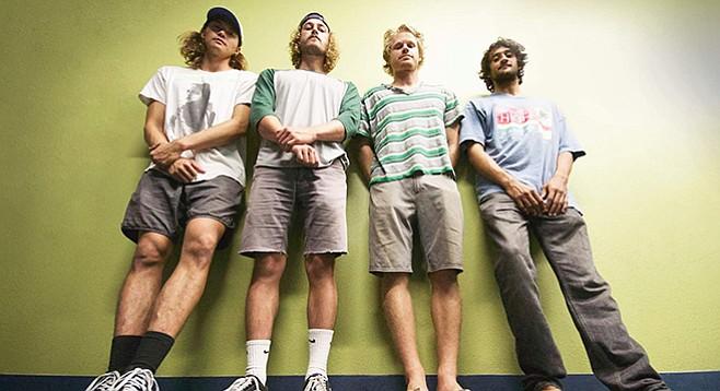 Wanted Noise: Jin Salamack, Caleb Atkins, Taylor Wagner, Suri Sherman