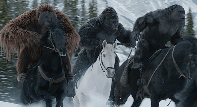 War for the Planet of the Apes: The next installment of the series will be about the Great Horse Uprising.