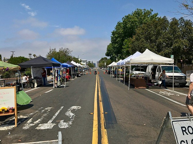 The dwindling Golden Hill Farmers' Market is due to make a comeback.