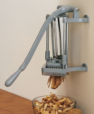 How to make a French fry. Every business should have one!