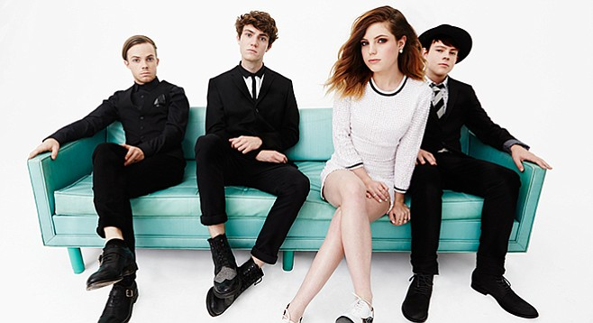 Echosmith. They once performed with Taylor Swift!