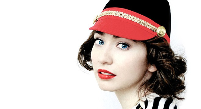 Regina Spektor, in town with a retrospective road show