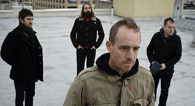 Ted Leo and crew hit the Casbah on November 1
