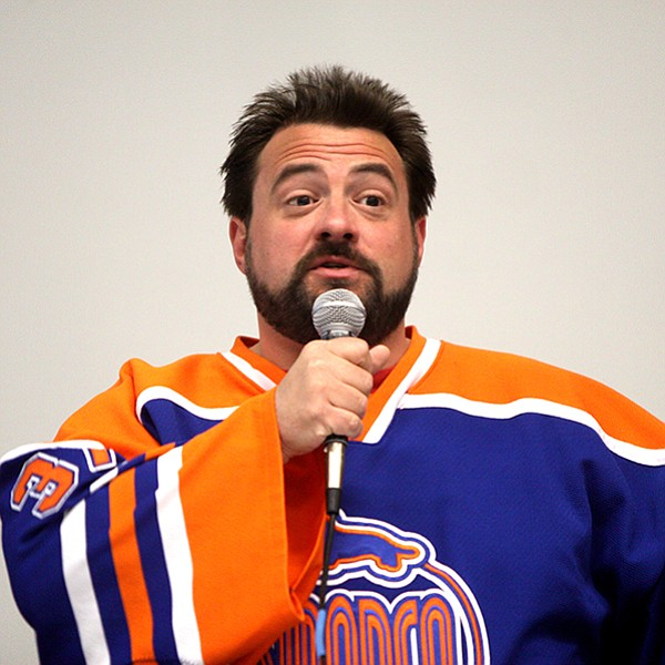 Kevin Smith likes to talk, and he has three whole nights