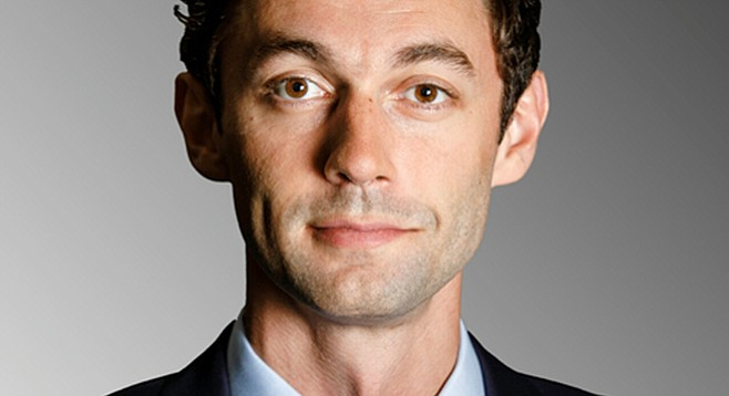 The big winner of the funding derby here was Ossoff, with a total of $69,383 collected in the county for his campaign committee.