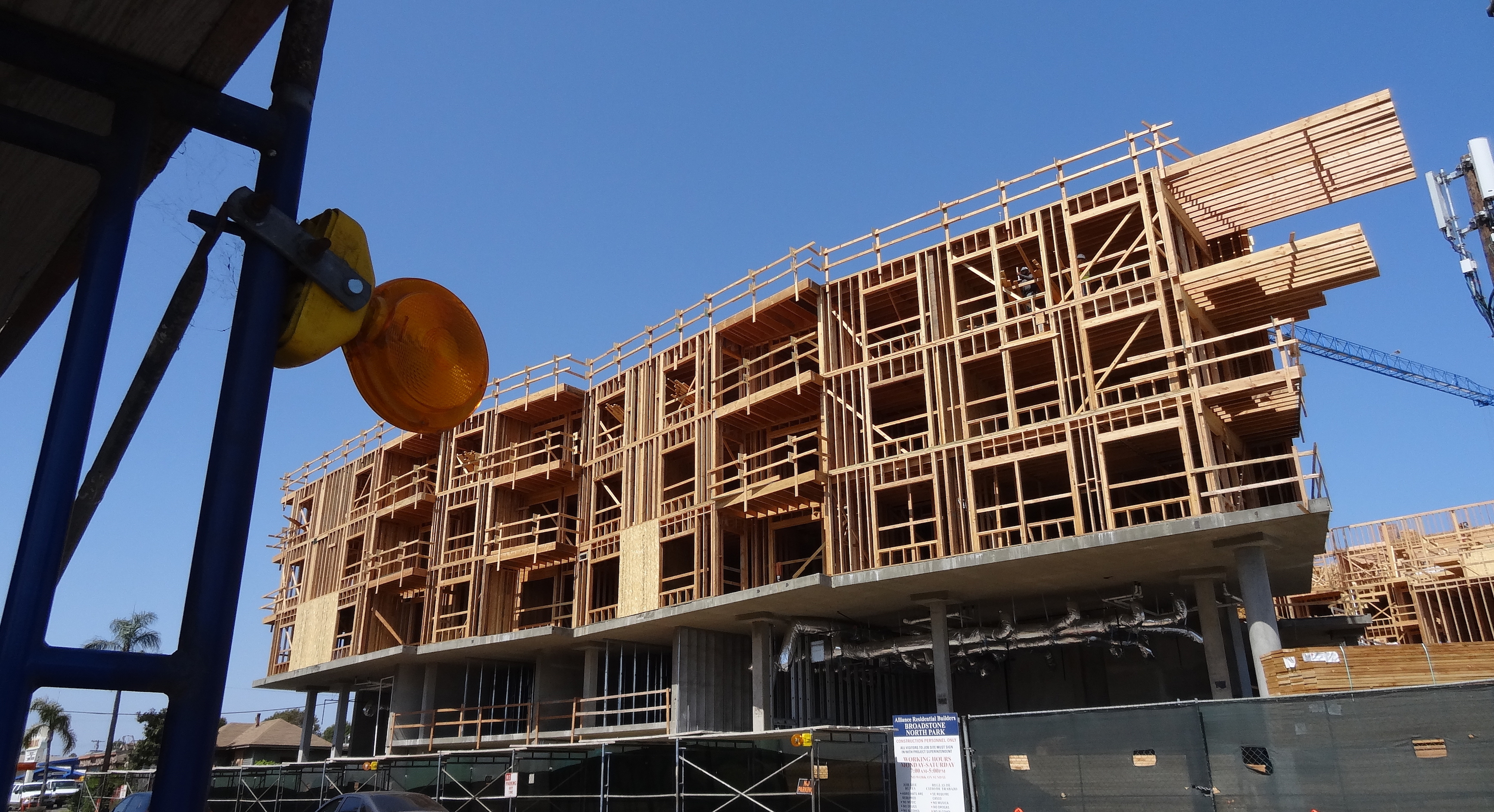 Luxury apartments rising at texas street and howard san - Apartment buildings san diego ...