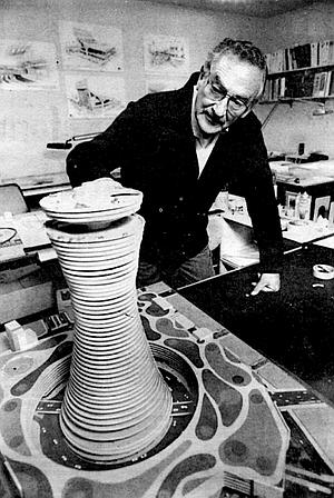 """""""Manuel Rosen co-designed the cultural center."""""""