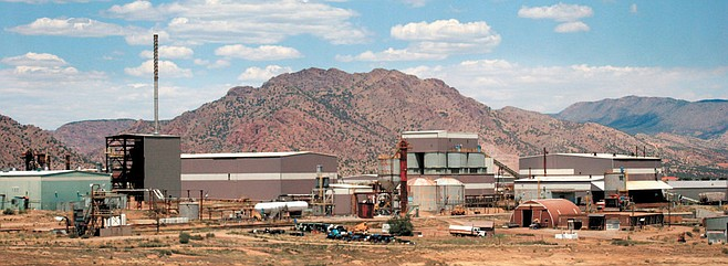 The Cotter Uranium Mill south of Canon City was declared a Superfund site in 1984.
