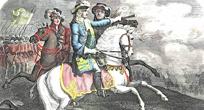 James II. When James II was deposed after the Glorious Revolution, Scarisbrick fled to France.