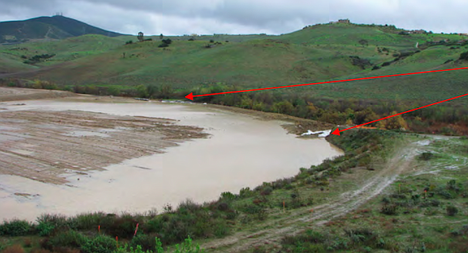 Black Mountain Ranch LLC at Del Sur, west of the 15, hadn't adequately protected against the run-off that ended up in Lusardi Creek.