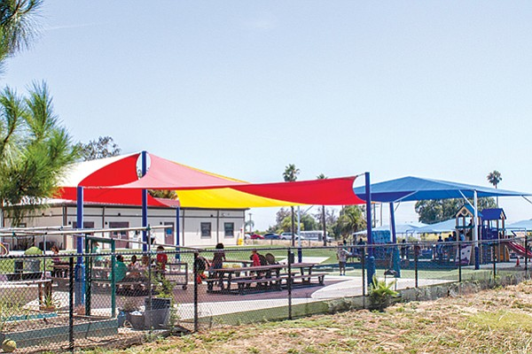 The 17 Area's neighborhood park was the scene of a misadventure with an armed Marine sentry.