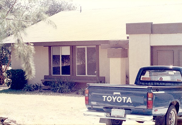 Author Ian Anderson's Camp Pendleton home in the 1980s.