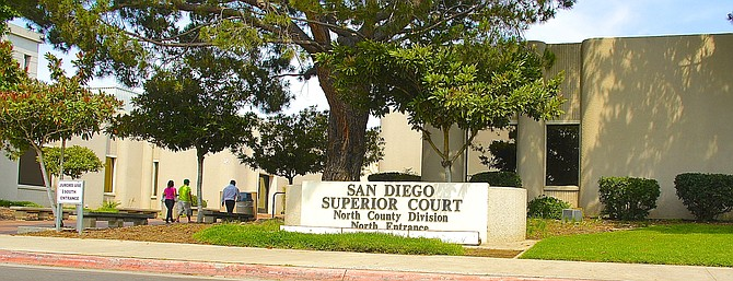 San Diego's North County Superior Courthouse in Vista