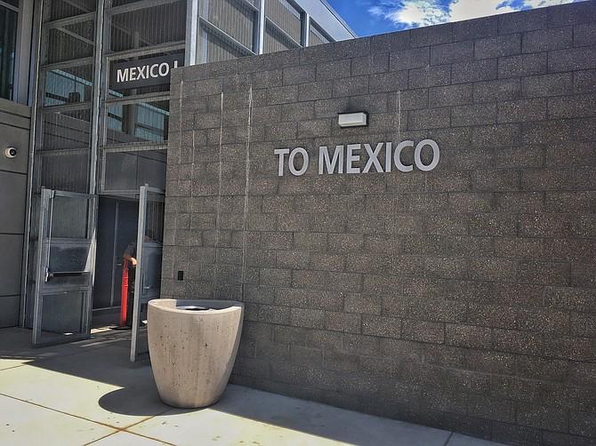 Outside PedWest near Las Americas