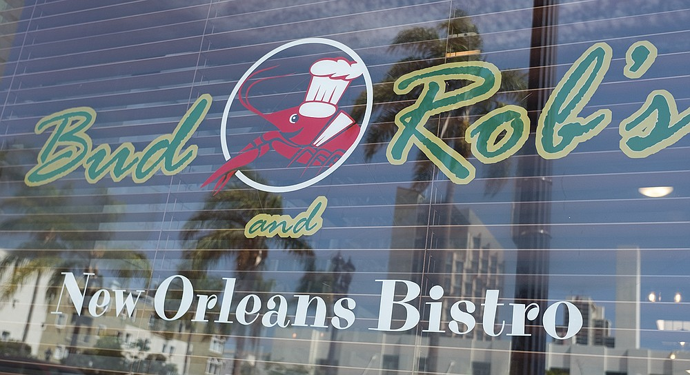 Bud & Rob's New Orleans Bistro: pleasant, low-key, spicy