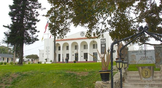 The Army and Navy Academy in Carlsbad