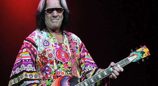 Todd Rundgren offers An Unpredictable Evening at Music Box on September 1