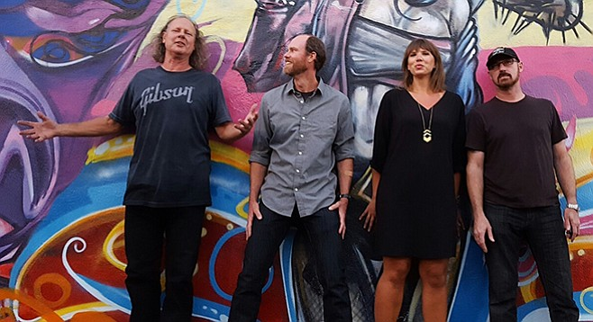 The Local (Neal Hedegard, Scott Walsh, Amy Day, Ray Daniels): one of the gazillions of bands  with balanced careers