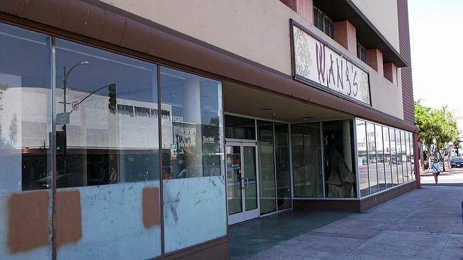 Wang's North Park restaurant building has had difficulty finding a buyer or lessee.