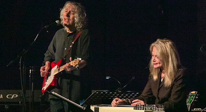 Albert Lee and Cindy Cashdollar at Qualcomm Hall on September 9
