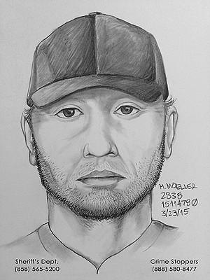 Sheriff's composite sketch of suspect