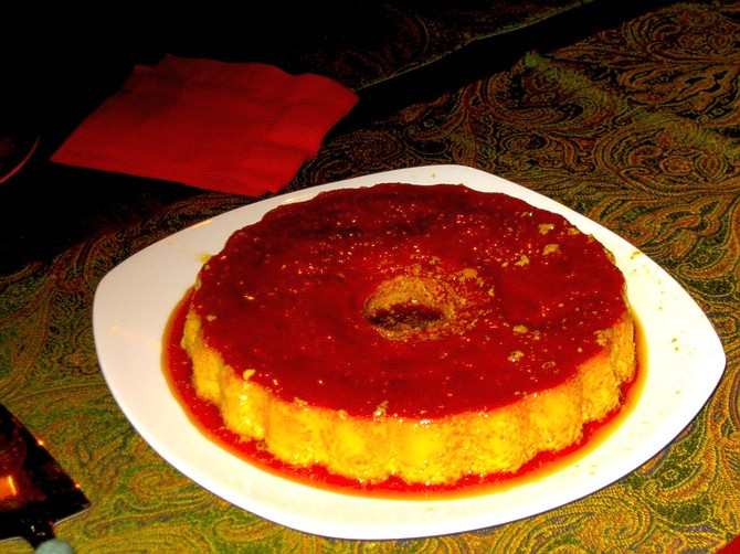 A Flan For All Times.