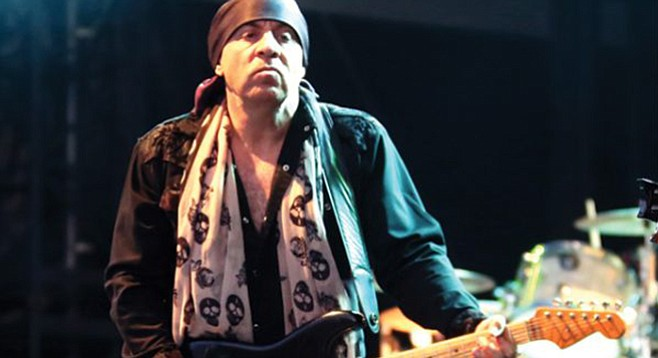 Stevie Van Zandt is on tour in support of his first solo album in nearly two decades
