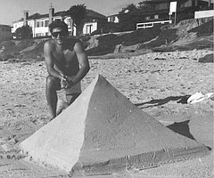 The Pyramid Maker of WindNSea, La Jolla
