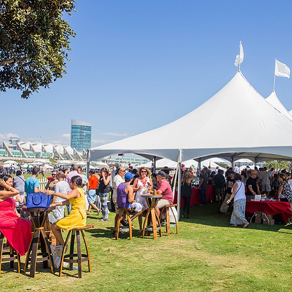 A Hispanic culinary celebration at Embarcadero Marina Park