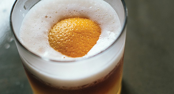 """Whiskey Sunny Side Up. """"It will start sour but finish sweet."""""""