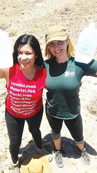 Jackie Arellano and Kirsten Zittlau
