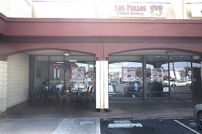 An unassuming shopping center restaurant.