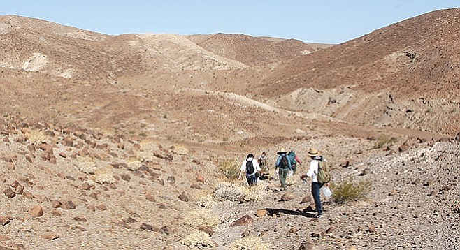 """""""You left water in the desert for illegals?"""" sparks some letters - Image by Mariana Vasquez"""
