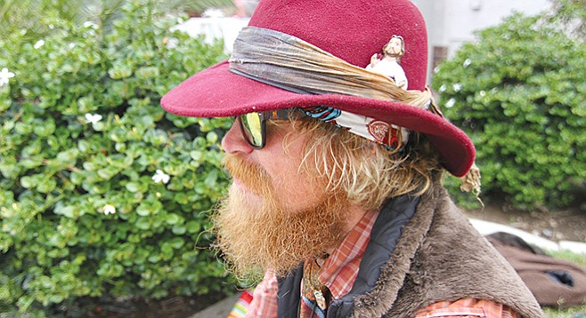 To avoid the consequences of testing positive for meth, Redbeard fled the Constellation and went AWOL.