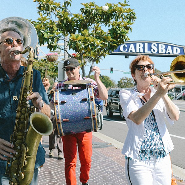 """""""Adventurous music by the beach,"""" Carlsbad Village to be precise"""